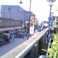Looking down on Cheapside, Barnsley, Барнсли