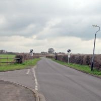 Knights Lane in Tiddington, looking south, Бас