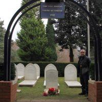 Brookwood Türk Hava Şehitliğ / Brookwood Turkish Air Cemetery, Басингсток