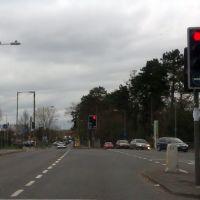 Bagshot Road/Redding Way Junction, Brookwood, Woking, Басингсток
