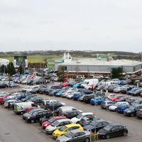 Birstall Retail Park and my car, Батли