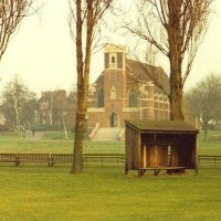 Bedford School Chapel and playing field, Бедфорд