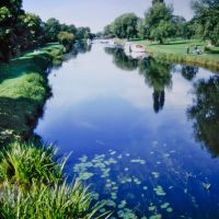 The River Great Ouse at Bedford, Бедфорд