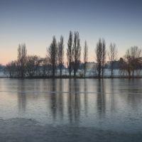 Frozen Danson Lake, Бексли