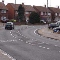 Penhill Road bend, looking NE, Бексли