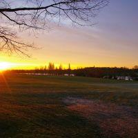 Sunrise in Danson Park, Бексли