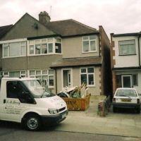 Extension in Bexley Kent by S M Berry Building Contractors Ltd, Бексли