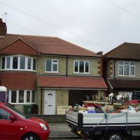 Extension in Albany Park, Sidcup, Kent by S M Berry Building Contractors Ltd, Бексли