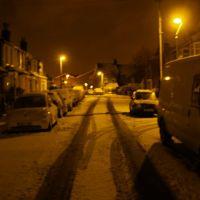 Ethronvi Road in the snow, Бексли