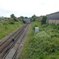 Merseyrail Track Towards Birkenhead., Биркенхед