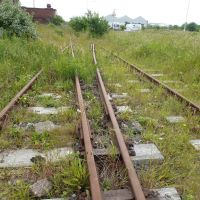 Old Disused Railway Track That Seems To Overlap., Биркенхед