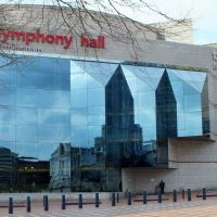 Symphony Hall,Broad Street Birmingham,West Midlands,Uk March 214., Бирмингем