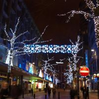 Christmas Lighting Time, New Street, Birmingham., Бирмингем