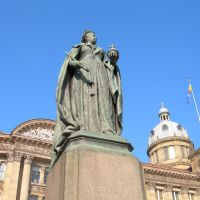 Queen Victoria at Victoria Square. Birmingham, Бирмингем