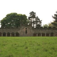 Bishops Park Deer House From River Bank (Gate Side), Бишоп-Окленд