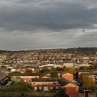 View over town, Блэкберн