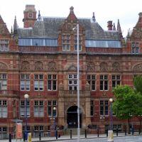 Victoria Building, Blackburn College, Блэкберн