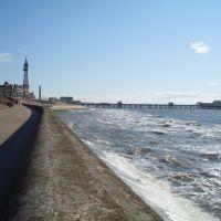 Blackpool, Irish Sea., Блэкпул