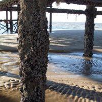 Blackpool, Irish Sea, Old pier., Блэкпул