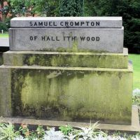 THE GRAVE OF SAMUEL CROMPTON INVENTOR OF THE SPINNING MULE., Болтон