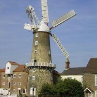 Five Sailed Boston Windmill, Бостон