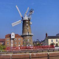 Maud Foster Windmill, Willoughby Road, Boston,, Бостон