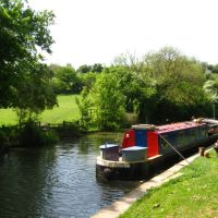 The Kennet and Avon Canal near Bradford on Avon, Брадфорд