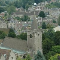 Bradford-on-Avon, Church & town, Брадфорд