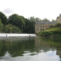 Weir on River Avon, Брадфорд