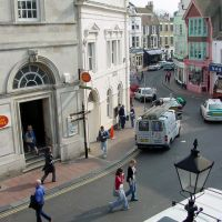Looking down Ship Street in Brighton, Брайтон