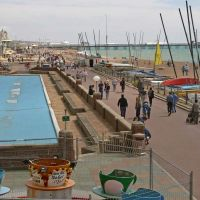 West side Beach Promenade - Brighton, Брайтон
