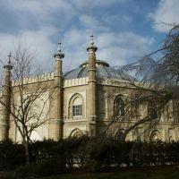 Brighton United Kingdom - The Royal Pavilion Brighton Διακοσμημένο με την Κινεζική κουλτούρα, Брайтон