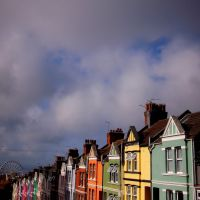 colorful street, Брайтон