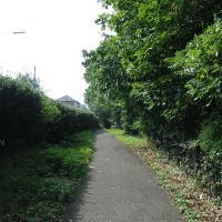 Footpath parallel to Warley Hill, Брентвуд