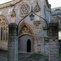 North entrance of the church - Jan 2014, Бриджуотер