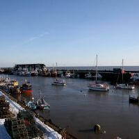 Bridlington Harbour 31st January 2010, Бридлингтон