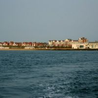 Bridlington Sea Front from the Sea, Бридлингтон