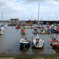 Boats in the Harbour, Bridlington, East Yorkshire, Бридлингтон