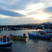 Bridlington Harbour At Dusk, Бридлингтон