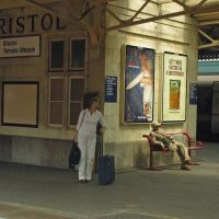Bristol Temple Meads Railroad Station 13:55pm, Бристоль