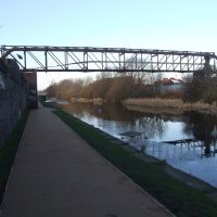 Pipe Bridge Over The Leeds & Liverpool Canal., Бутл
