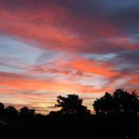Red sky at night, Ватерлоо