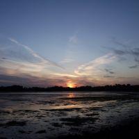 sunset over holesbay 2, Ватерлоо