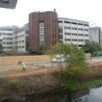 Unique view of Council Offices - Oct 2005, Вокинг