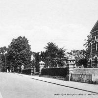 Milton Road, Wokingham c1930s - Black & White, Вокингем