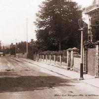 Station Road, Wokingham c1910s - Sepia tone, Вокингем