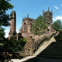 """Wolverhampton - St Peters"" by Clive Egginton, Вулвергемптон"