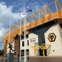 Waterloo Road entrance, Molineux Stadium, Wolverhampton, Вулвергемптон