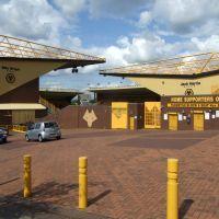 Molineux Stadium stands, Wolverhampton, Вулвергемптон