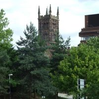 St. Peters Collegiate Church from The Molieux Hotel, Wolverhampton, Вулвергемптон